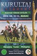 Kurultáj 2012 - Magyar Törzsi Gyűlés - Bugac