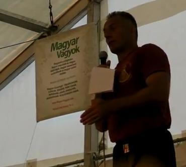 Vukics Ferenc előadása - Hazám védelmében - MOGY 2012 Magyar Vagyok sátor