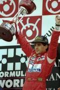 Ayton Senna - Egy cserép virág helyett
