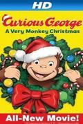 Bajkeverő majom: Boldog karácsonyt majom módra (Curious George: A Very Monkey Christmas)