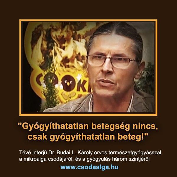 Dr.Budai László Károly orvos-természetgyógyász