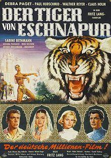 Az eschnapuri tigris (Der Tiger von Eschnapur)