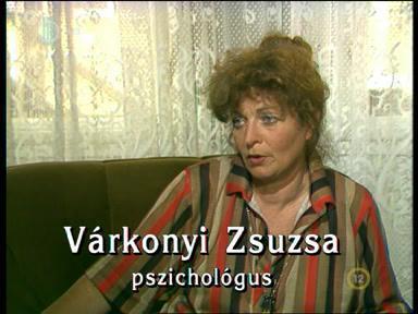 F. Várkonyi Zsuzsa pszichológus