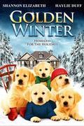 Kutya egy karácsony Golden Winter