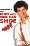 Magas barna férfi, felemás cipőben /The Man With One Red Shoe/