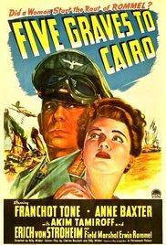 Öt lépés Kairó felé /Five Graves to Cairo/
