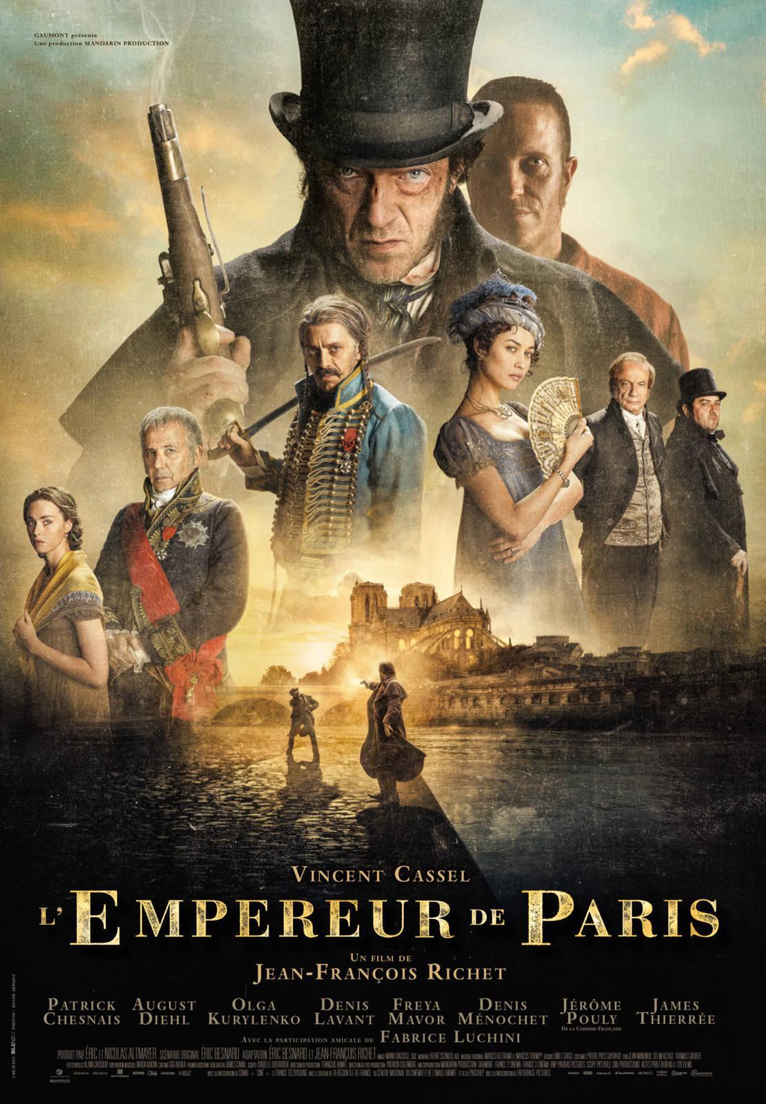 Párizs császára /L'Empereur de Paris/ 2018.