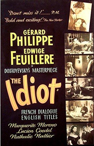 A félkegyelmű (L' idiot) 1946.
