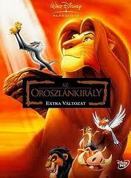 Az Oroszlánkirály (The Lion King) 1994.