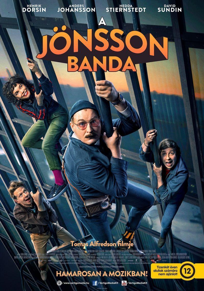 A Jönsson banda (Se upp för Jönssonligan) 2021.