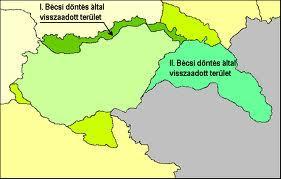 Történelemóra - Bécsi döntések